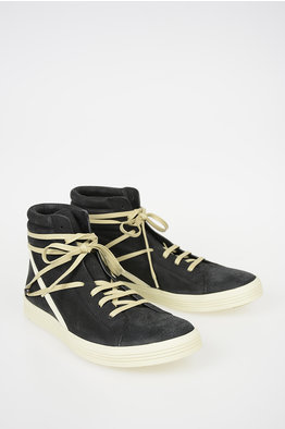 -30% NEW. Rick Owens Sneakers GEOTHRASHER HIGH in Pelle 3af93fc69f8