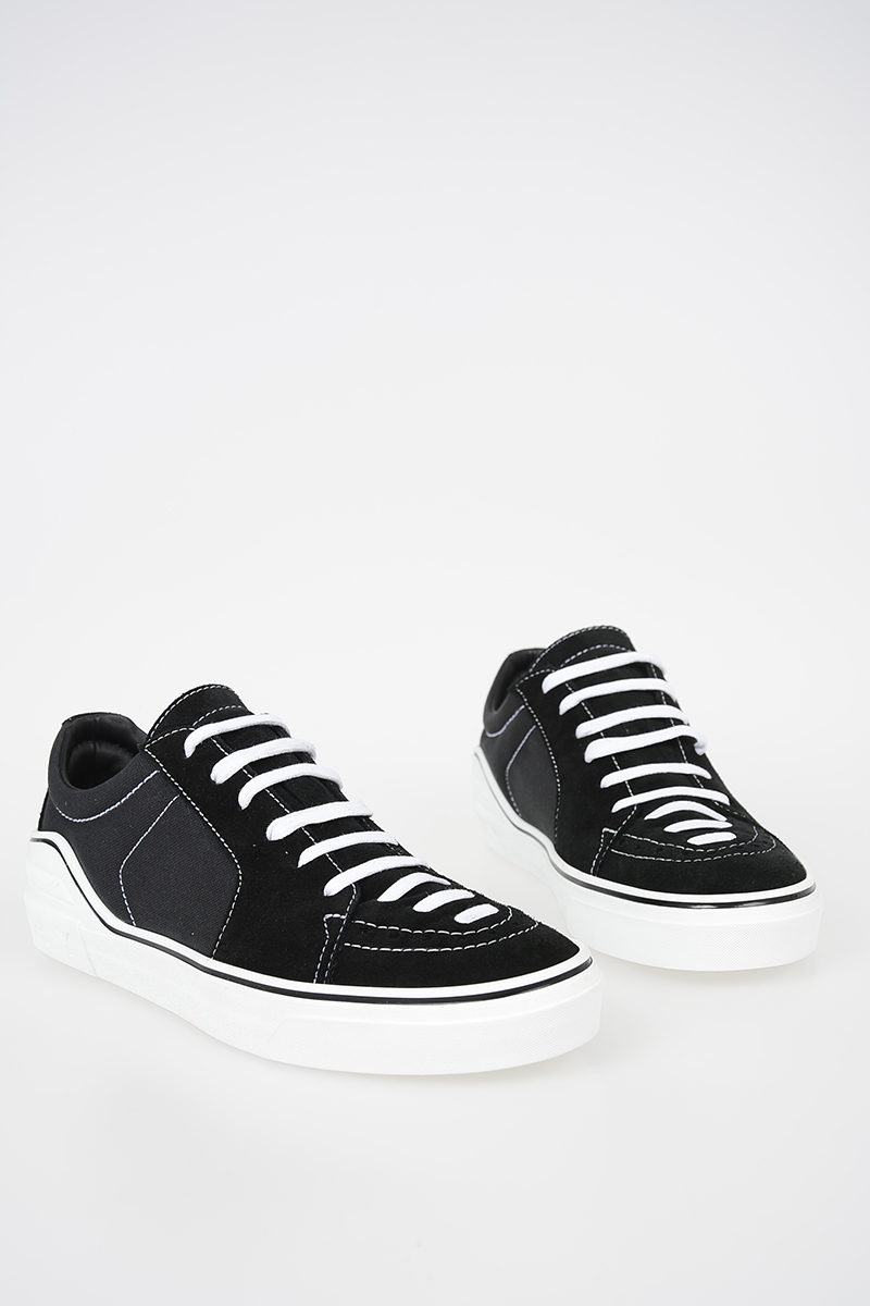 d6ee699f6a Givenchy Sneakers in Pelle Scamosciata e Tessuto uomo - Glamood Outlet