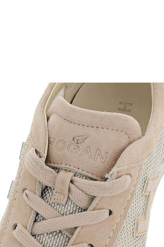 Sneakers OLYMPIA In Pelle e Tessuto