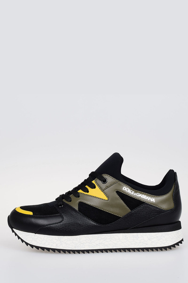 Pelle Outlet Speed Glamood Gabbana Sneakers In Dolceamp; Run Uomo E9WHIYD2