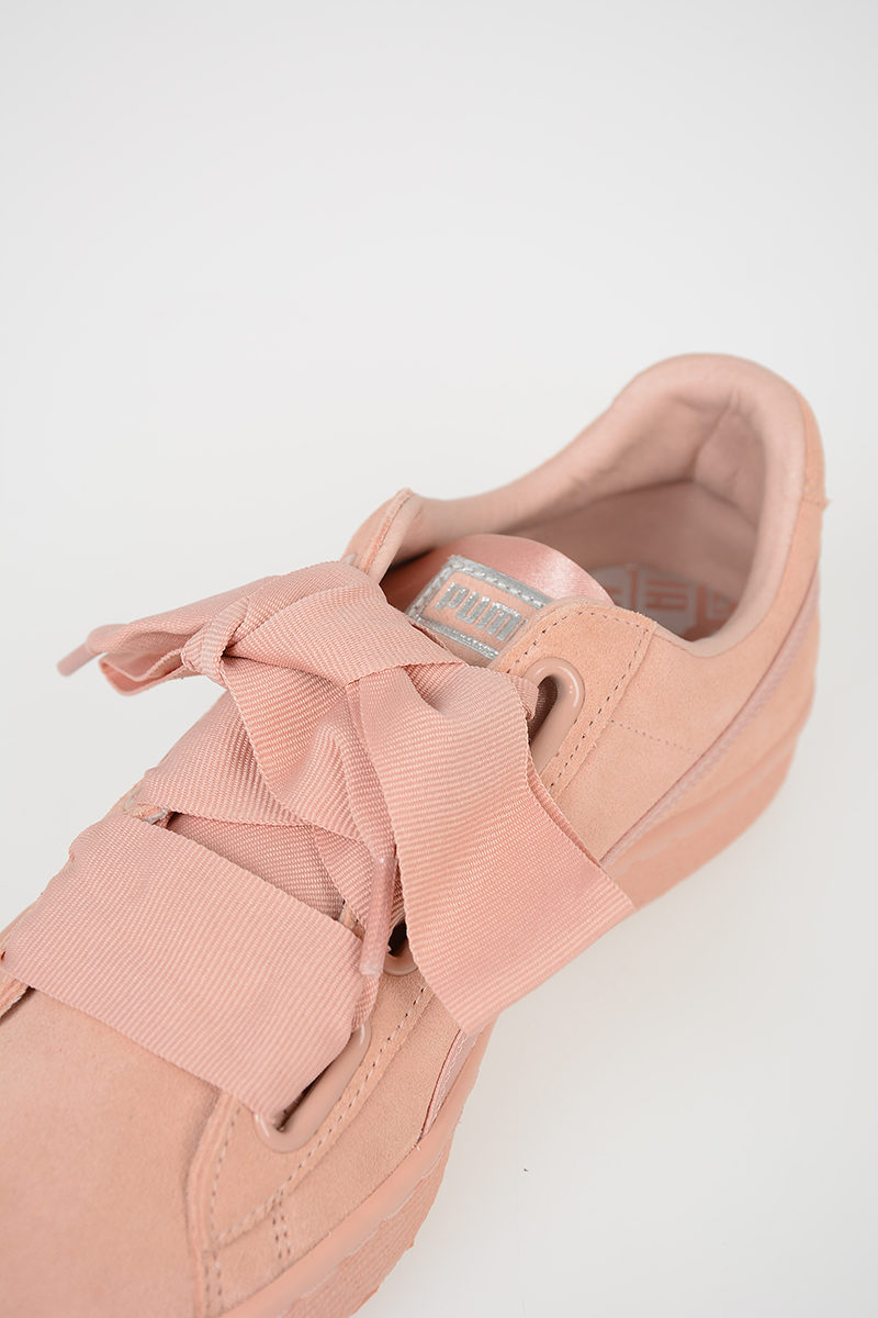 Suede Puma In Pelle Sneakers Heart Ep Outlet Donna Glamood OP8w0nk