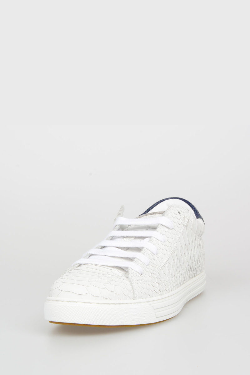 Glamood Outlet In Uomo Club Dsquared2 Sneakers Tennis Pelle F1TlKJc