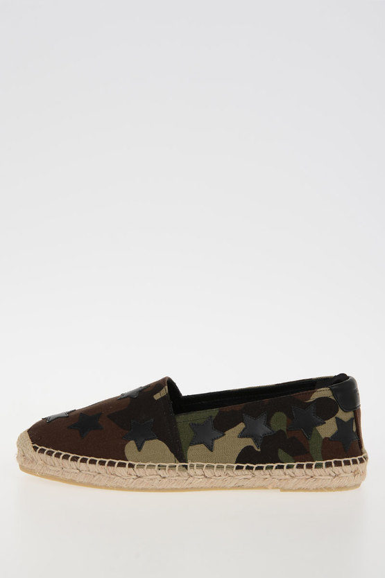 STAR Camouflage Slip-on Shoes