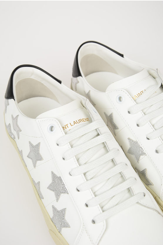 Stars Embroidered Low Sneakers