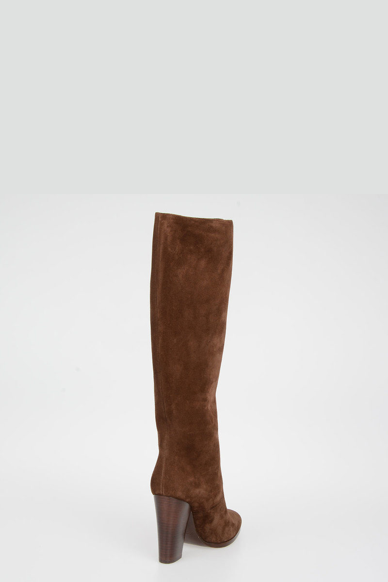 Ralph Lauren Stivale In Pelle donna - Glamood Outlet 56155bf0f56