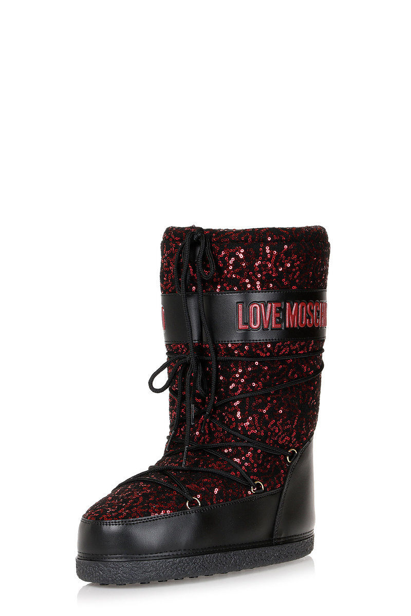 super popular 67292 9e49a Stivali da Neve LOVE MOSCHINO con Paillettes