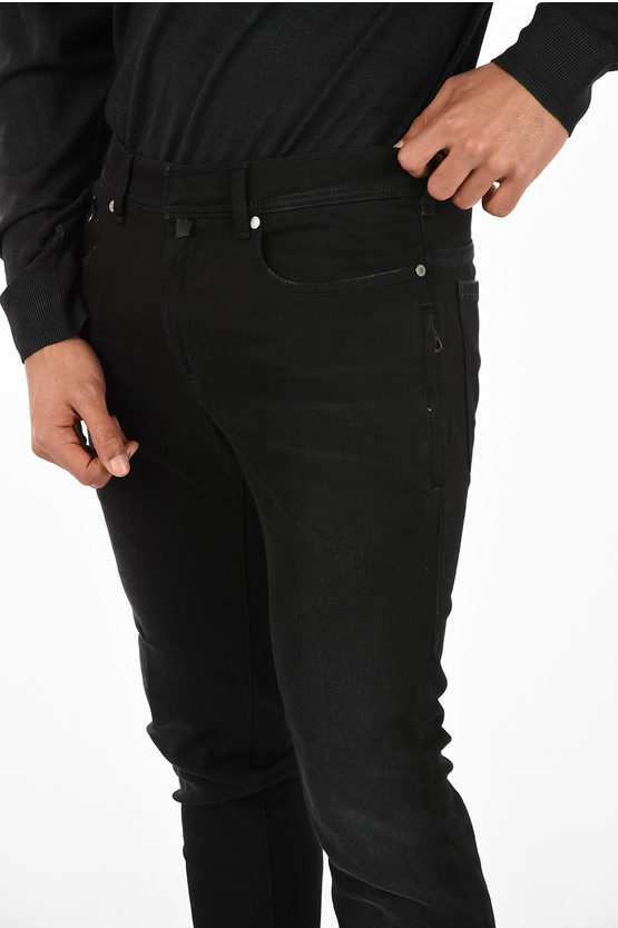 Stonewashed Skinny Fit Jeans 17 cm