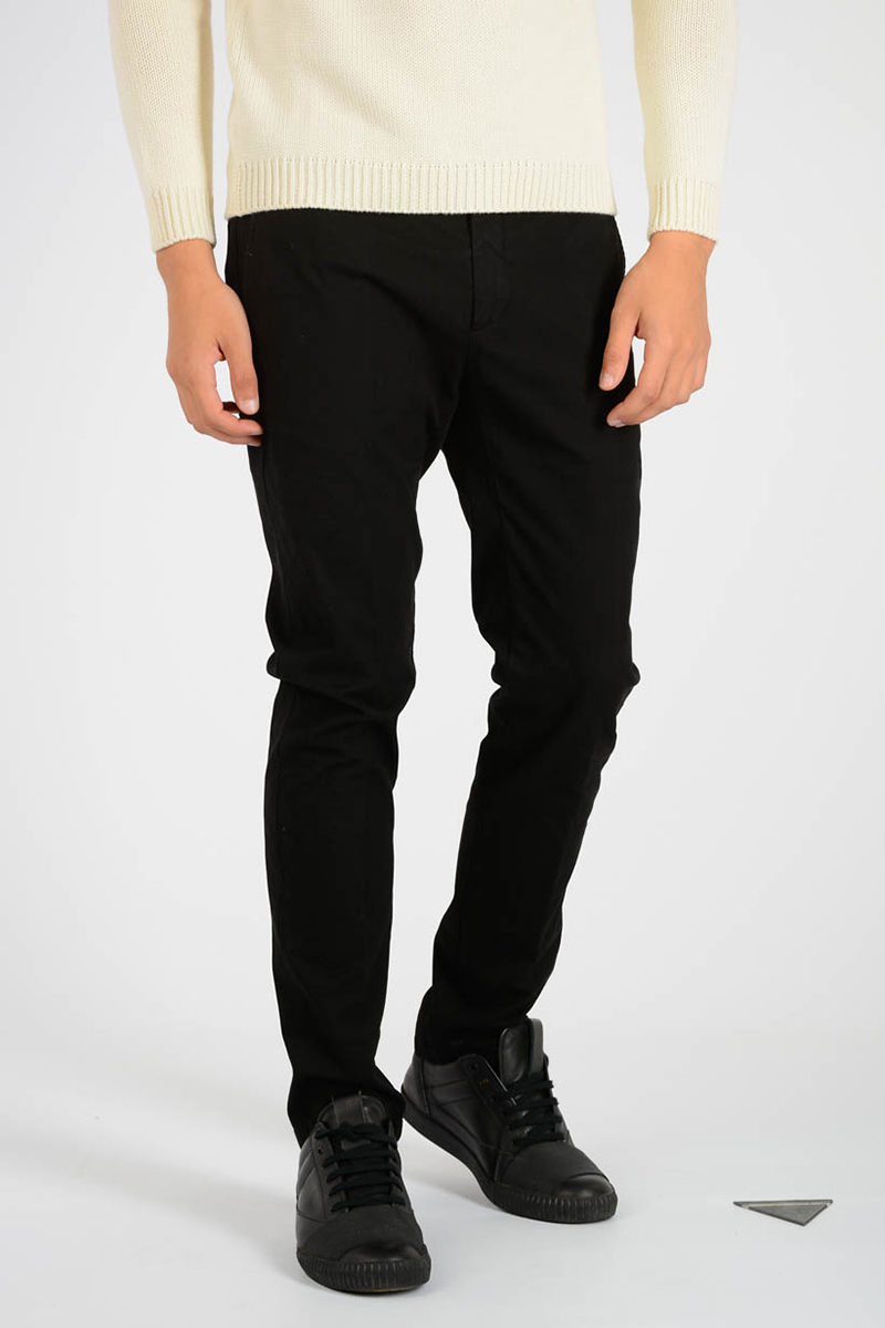 fa3ac7b83262 Department 5 Stretch Cotton MIKE Pants men - Glamood Outlet