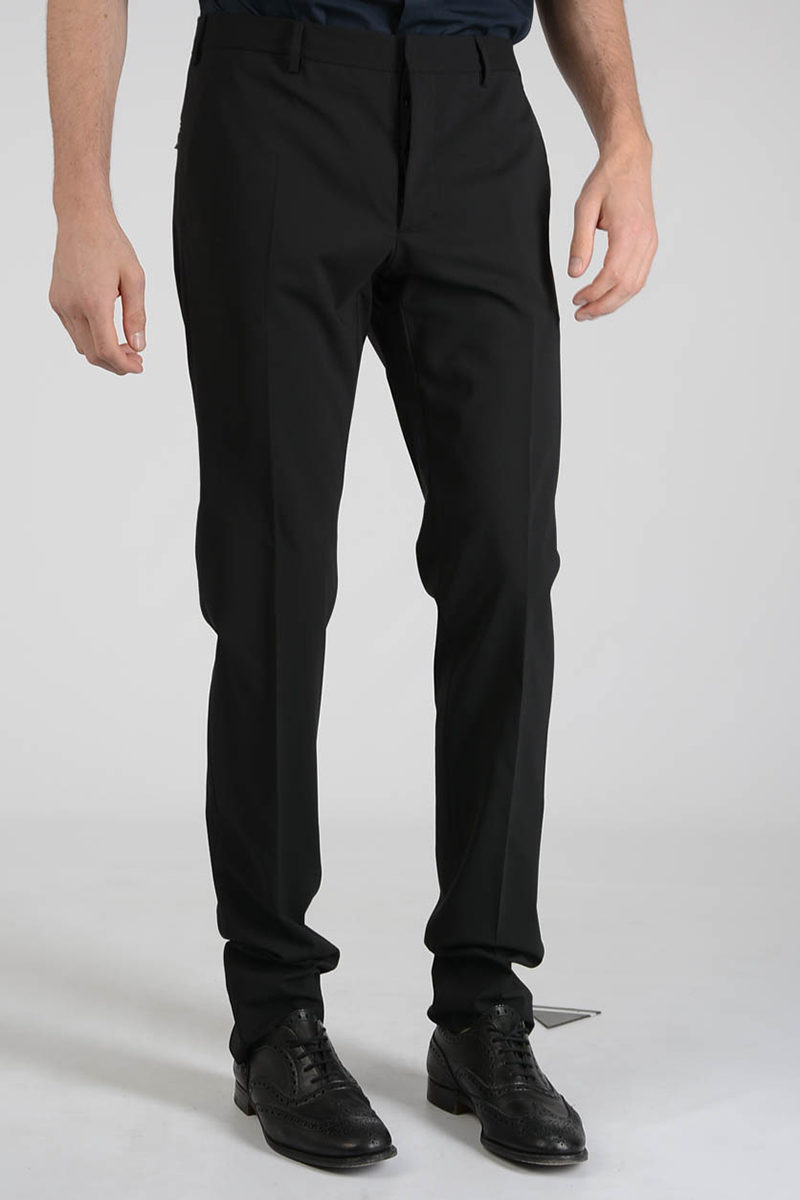 Stretch Virgin Wool Pants Spring/summer Prada nPo6r3CtI