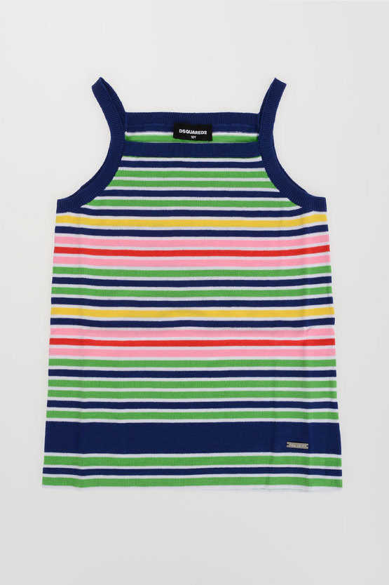 Striped Knitted Tank