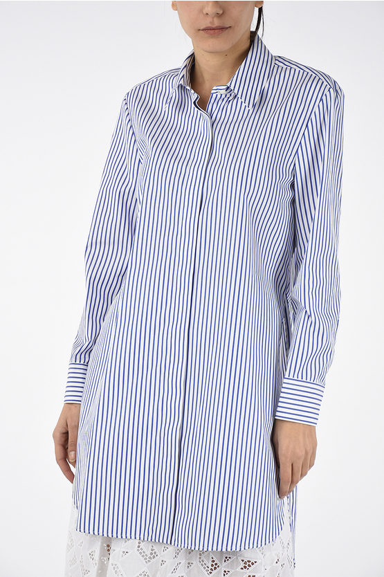 Striped Long Blouse