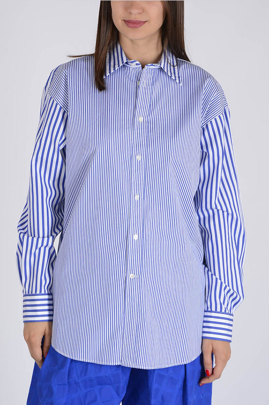 Striped Popeline Cotton blouse
