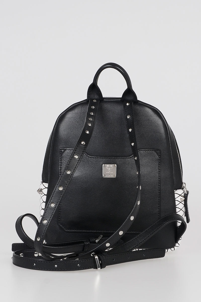 9b8ebb59db8b MCM Studded Leather Backpack women - Glamood Outlet