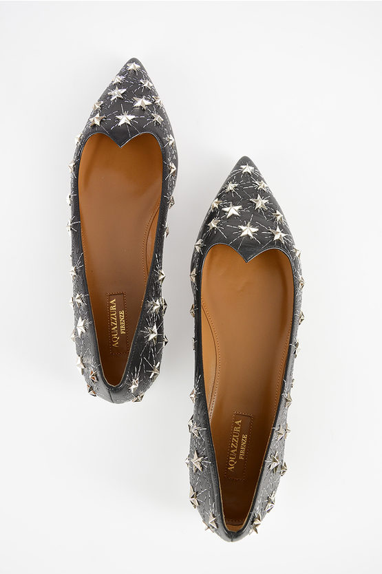 Studded Leather COSMIC Ballet Flat