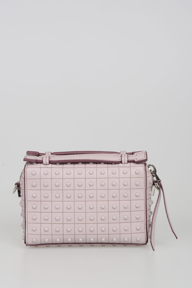 2507f2fe92897 Tods Studded Leather don bauletto Bag women - Glamood Outlet