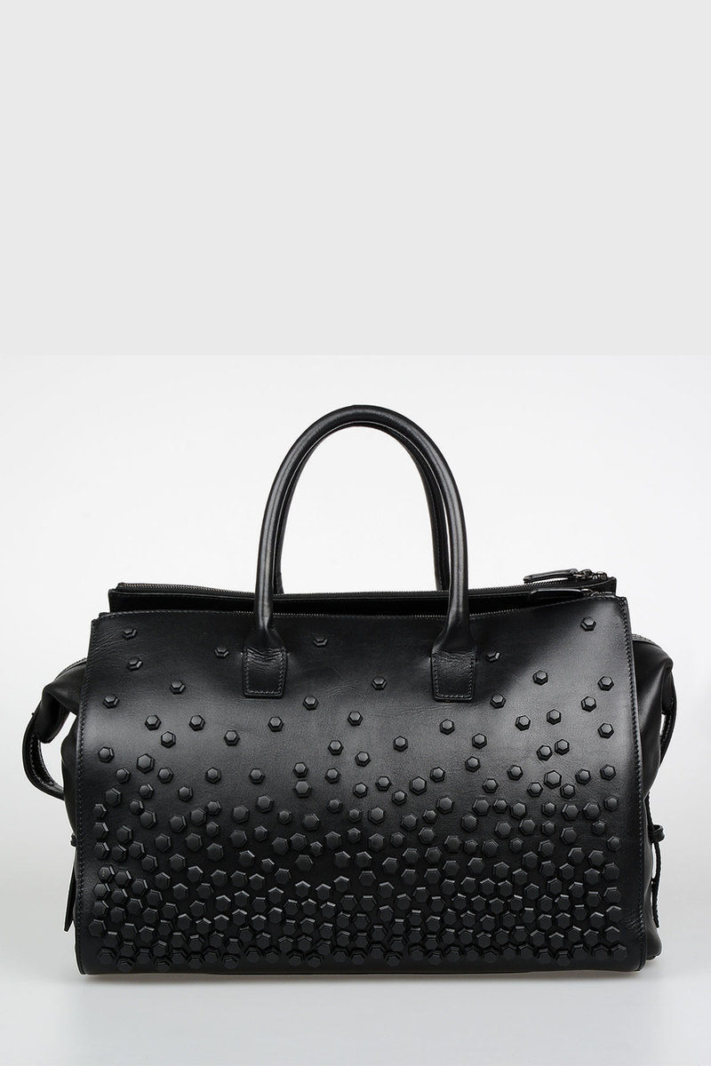 87415024f017 Dsquared2 Studded Leather Duffle Bag women - Glamood Outlet