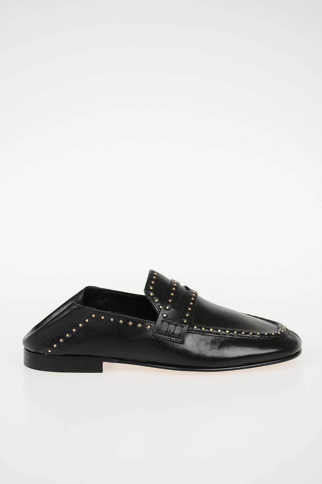51c878f9bc0 Isabel Marant Studded Leather FEZZY Loafers women - Glamood Outlet