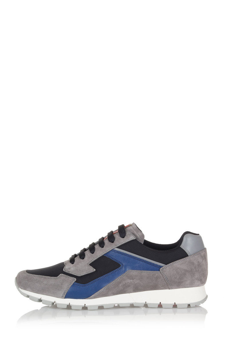 387675bd46 Suede and fabric Sneakers