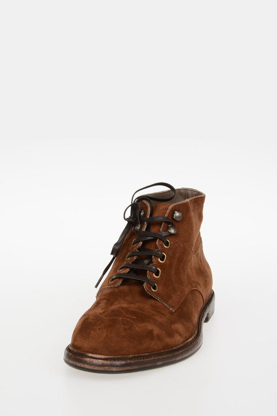 Suede Leather Ankle boots