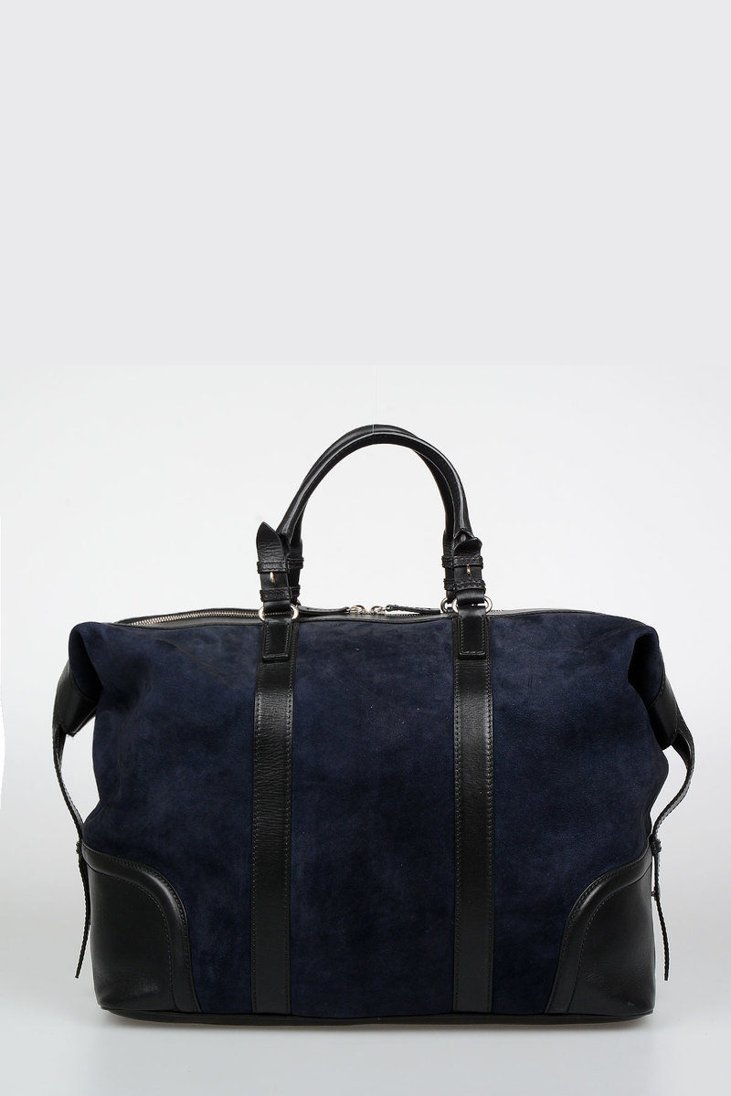 99f4b733578a Dsquared2 Suede Leather Duffle Bag men - Glamood Outlet
