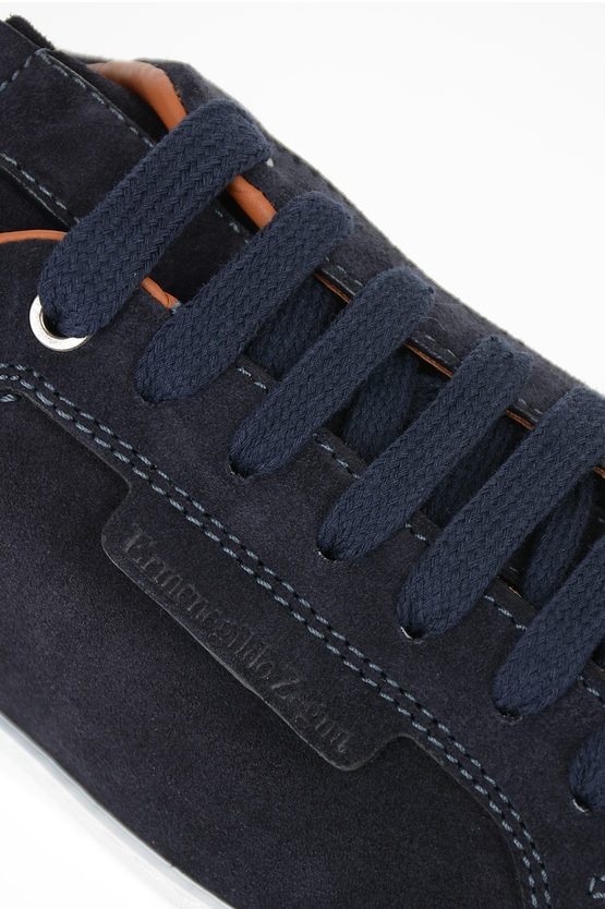 Suede Leather FERRARA Sneakers
