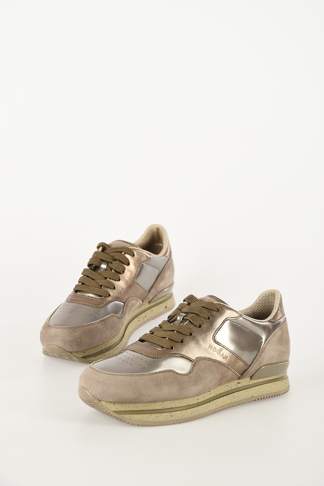 Suede Leather H222 Sneakers