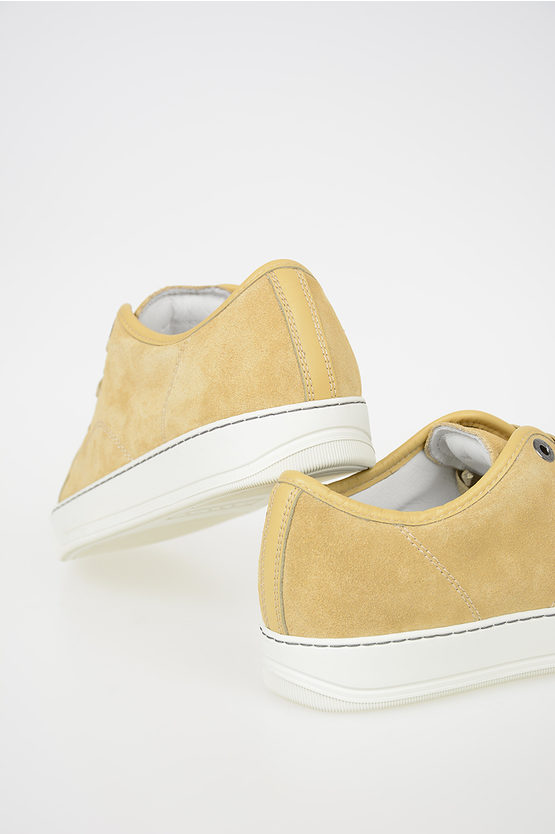 Suede Leather Low Sneakers