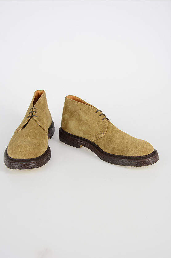 Suede Leather LUINSTON Laced Shoes