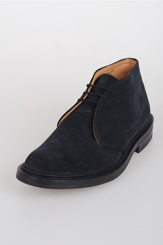 Suede Leather MIKE Laced Shoes