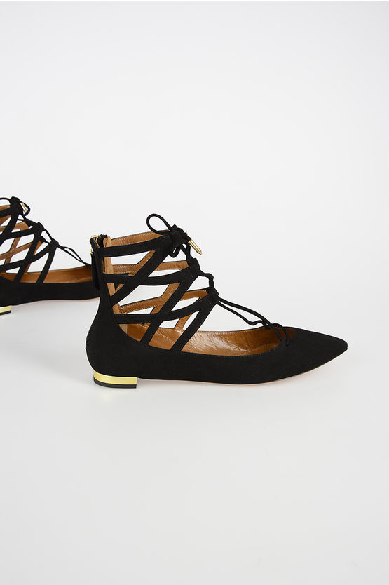 Suede Leather Sandal