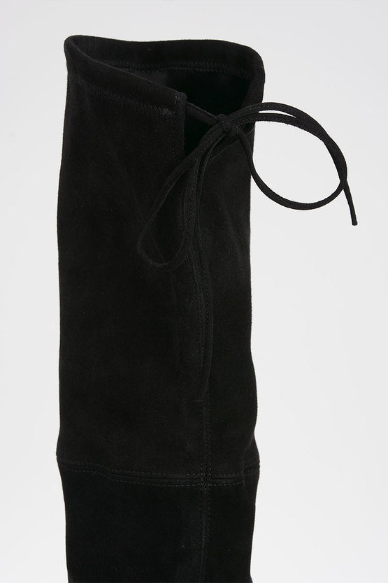 Suede Leather TIELAND Boots 8 cm