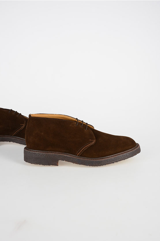 Suede Leather WINSTON Laced Shoes