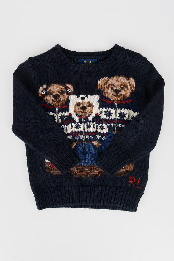 Sweater with Teddy Bear