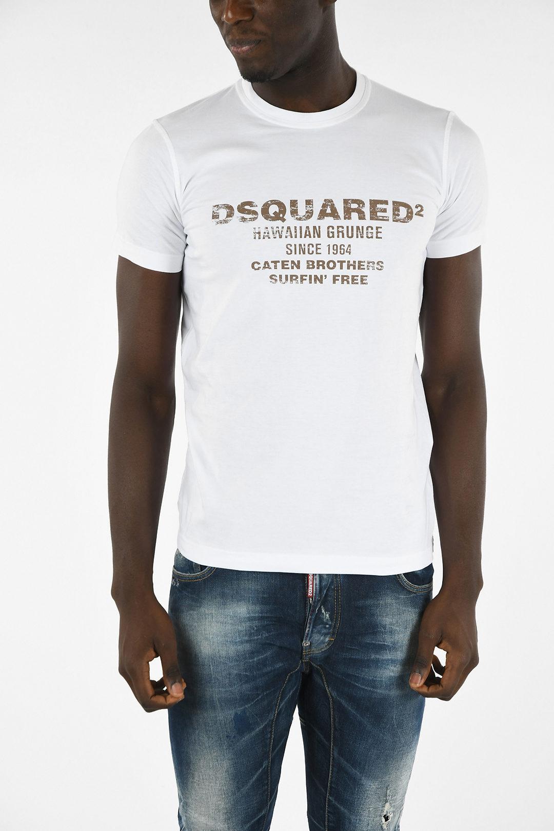 Dsquared2 T-shirt SEXY SLIM FIT con Stampa uomo - Glamood ...