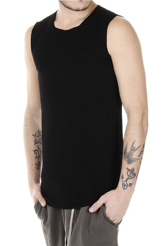 T-shirt SLEEVELESS in Cotone