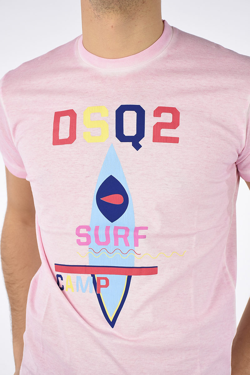 4a8a7060a5 T-shirt SURF in Cotone