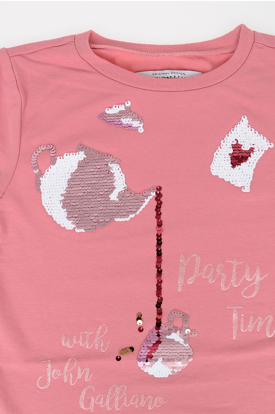 T-shirt with Sequins