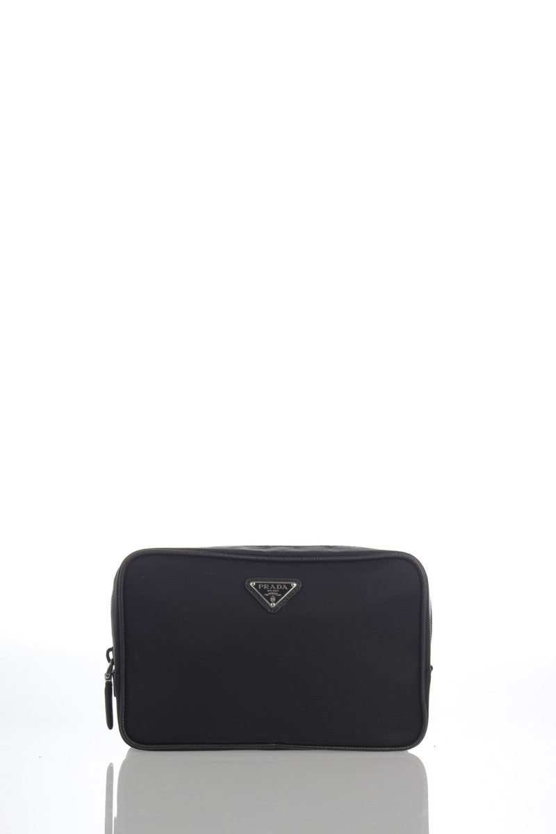 Prada Toiletry Bag with Saffiano Leather Trimmings men - Glamood Outlet b634f93755951