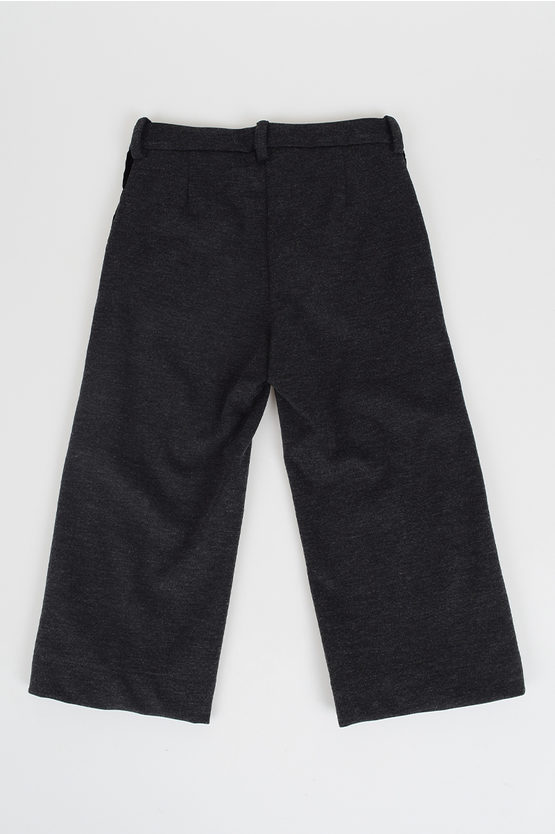 Trousers with Velvet Details