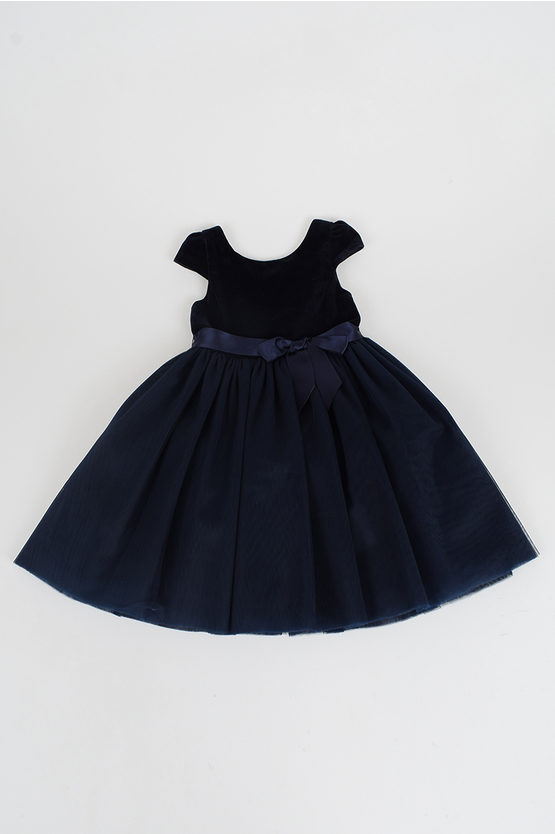 Tulle and Velvet Dress