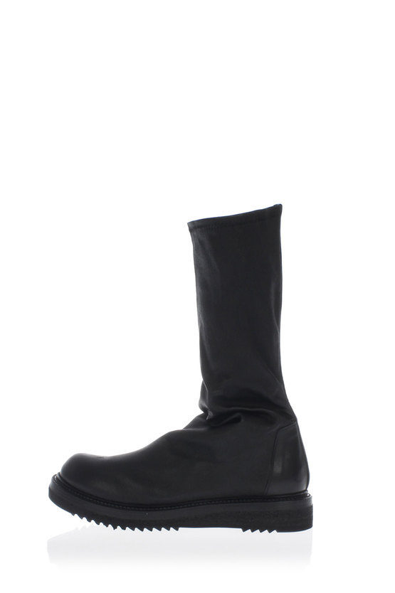 Tumbled Leather HIGH PULL ON Boots