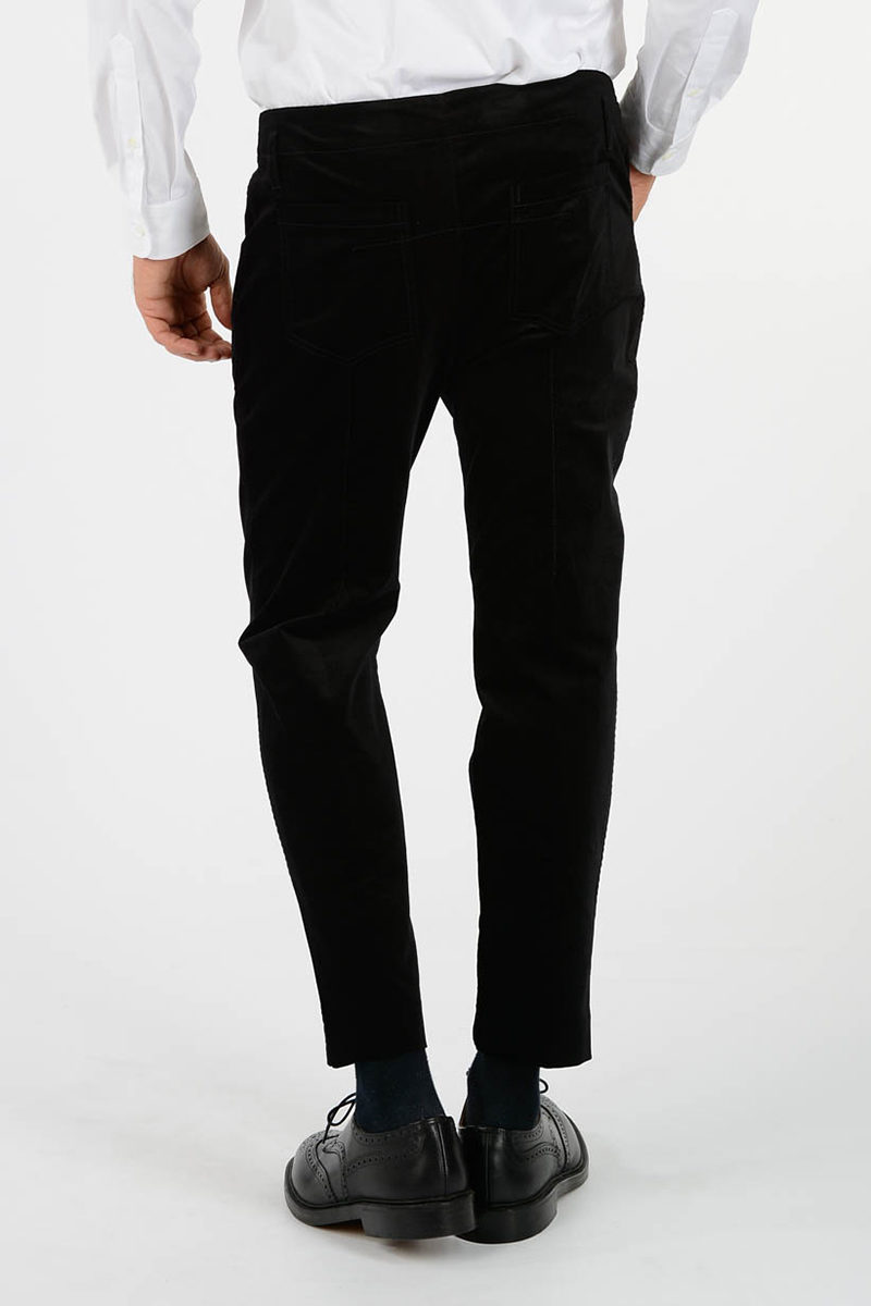 Haider Velvet Outlet Men Pants Glamood Ackermann rqwCP5Hr