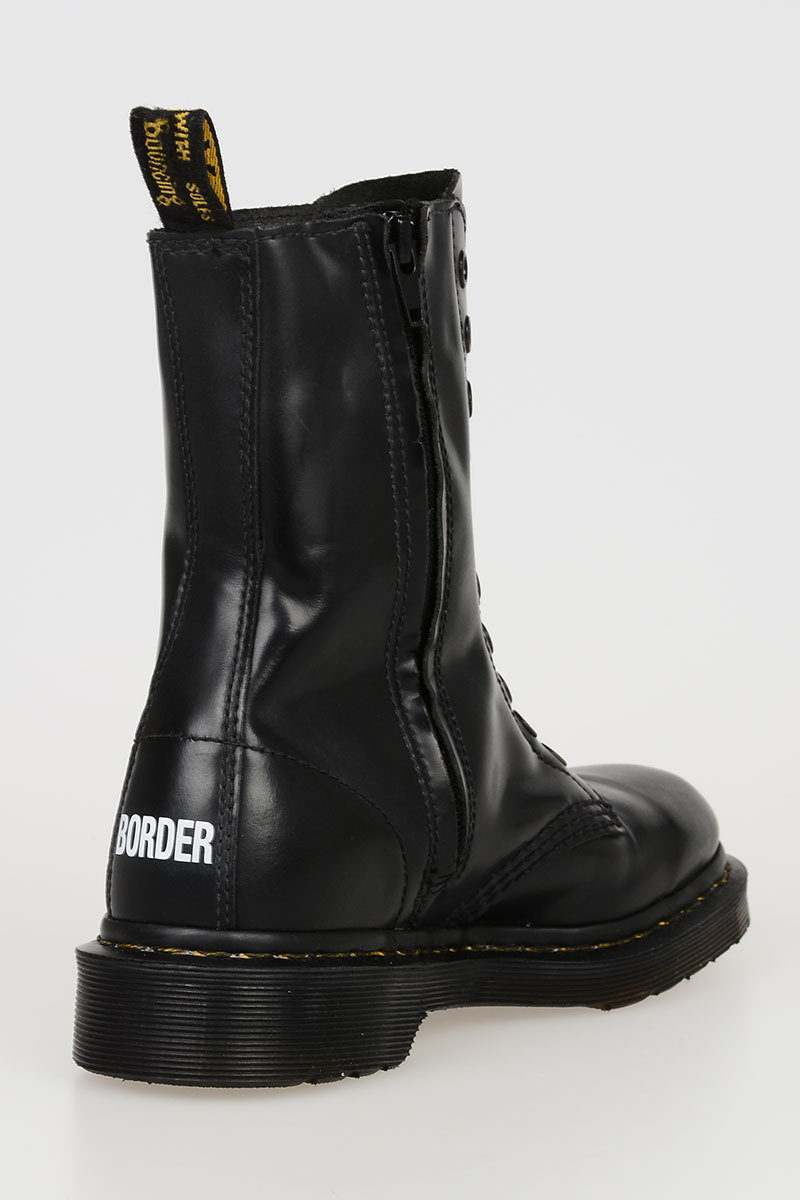 pillow Surname unfathomable  Dr Martens VETEMENTS Leather Ankle Boots - Glamood Outlet