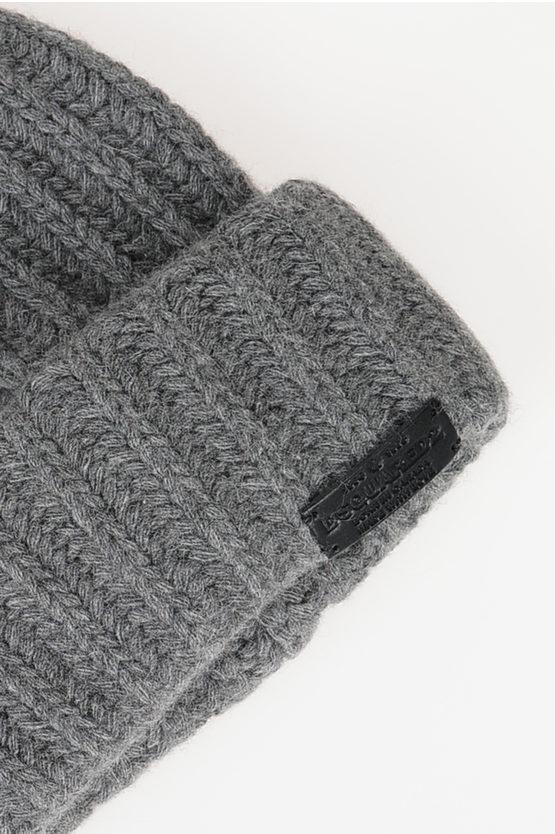Virgin Wool Blend Hat
