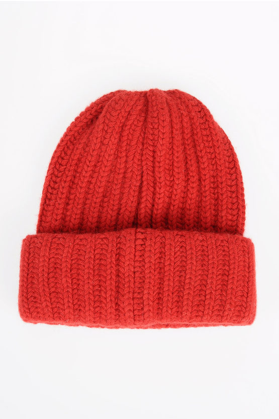 Virgin Wool Blend Hat