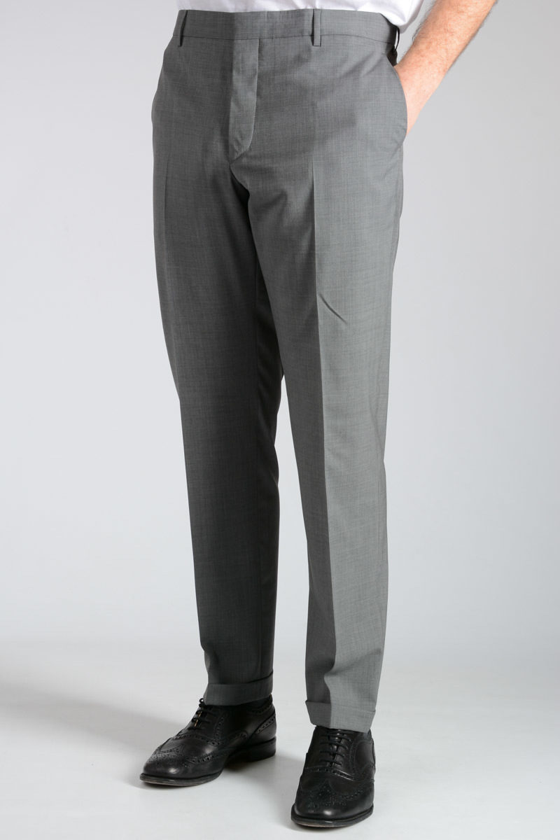 Virgin Wool Blend Pants Spring/summer Prada X6YEA