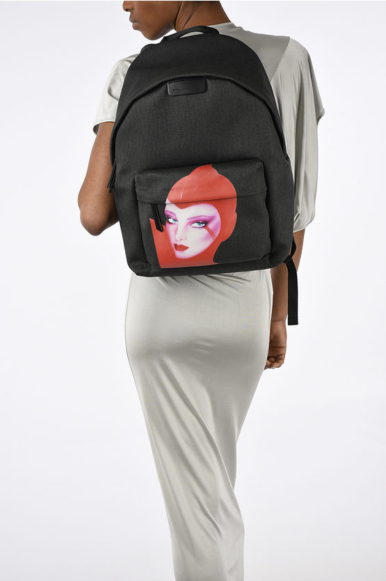 Woman Printed Back Pack