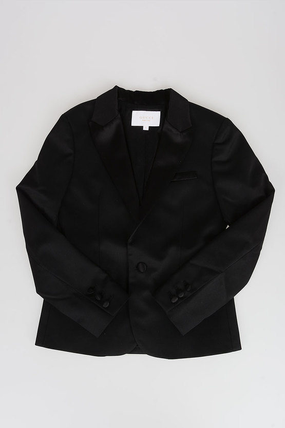 Wool and Nylon Blazer