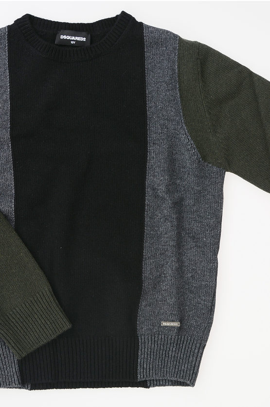 Wool Cashmere Blend Pullover