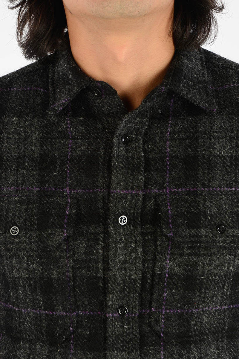 5bad7a39ca3 Raf Simons Wool Short Sleeves Shirt men - Glamood Outlet